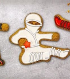 3 kage udstikkere ninja