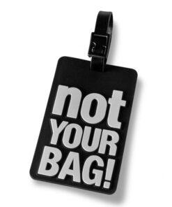 Kuffertmærke Not Your Bag