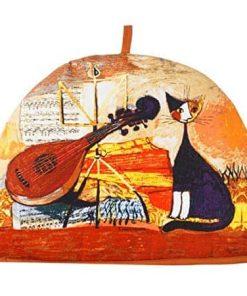 Tehætte med kat Rosina Wachmeister Musical Cat Ulster Weavers