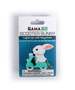 Nøglering med LED lys kanin