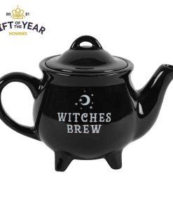 sort tepotte lille heksebryg heksekedel