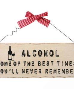 Træskilt alkohol best times