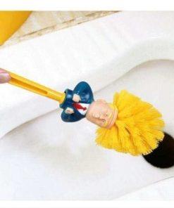 Donald Trump toiletbørste sjov