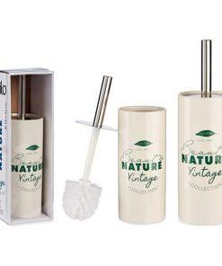 Toiletbørste natura vintagehvid