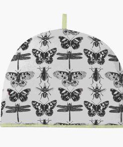 Tehætte med sommerfugle Ulster Weavers