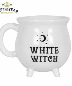 Hvid kop heksekedel